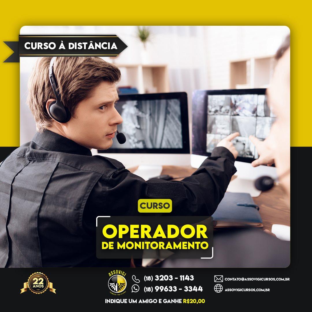 Operador de Monitoramento e C.F.T.V.
