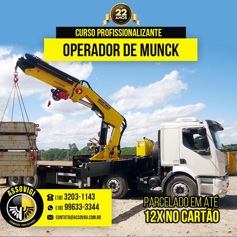 Operador de Caminhão Munck