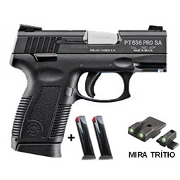 Pistola Taurus PT 638